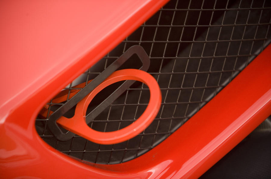 Ferrari 599XX towing eye