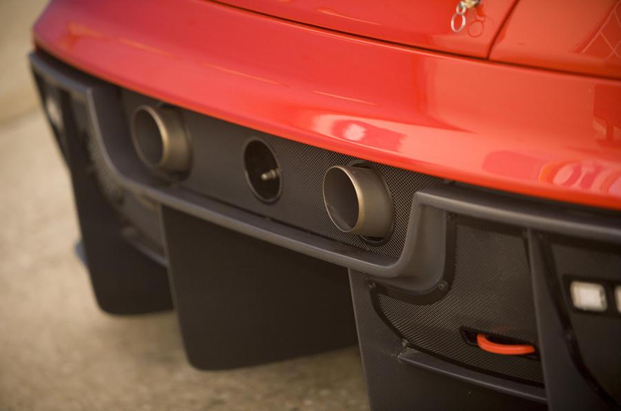 Ferrari 599XX rear diffuser