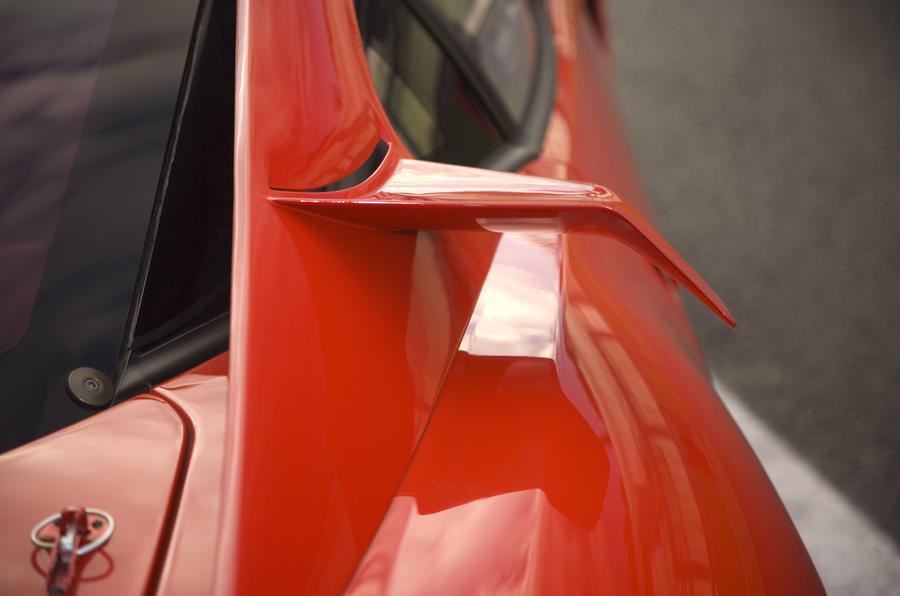 Ferrari 599XX side wing