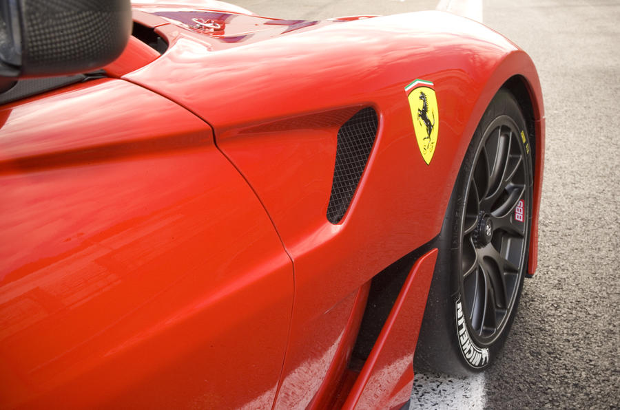 Ferrari 599XX air vents