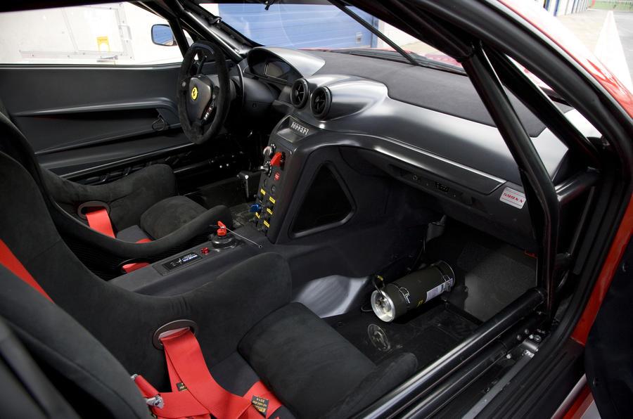 Ferrari 599XX dashboard
