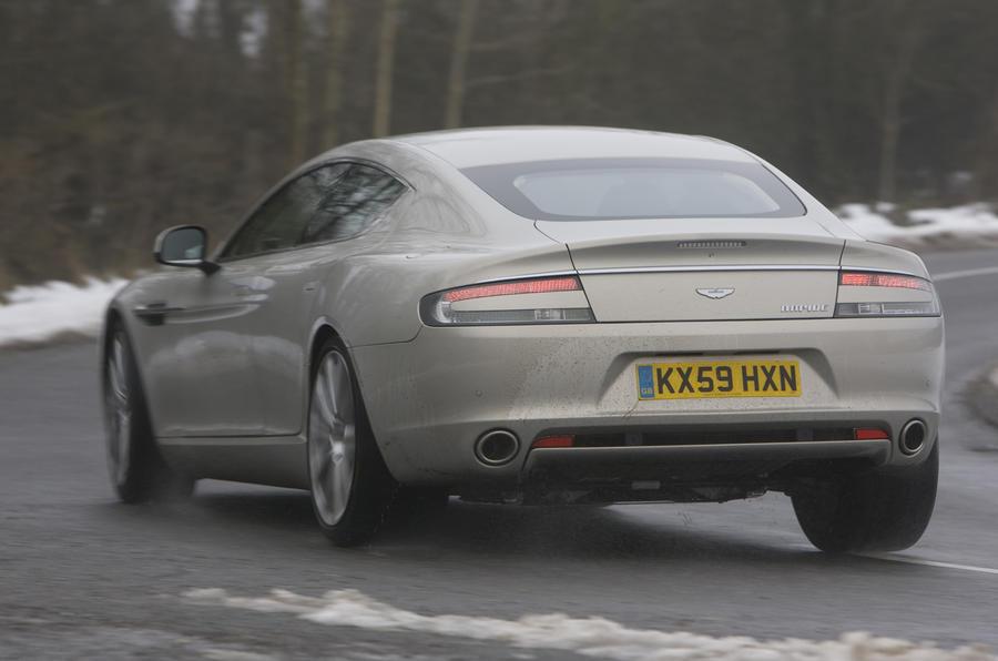 Aston Martin Rapide rear cornering