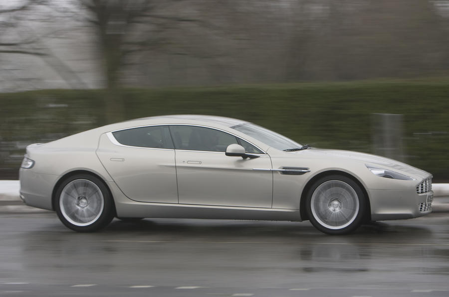 Aston Martin Rapide side profile