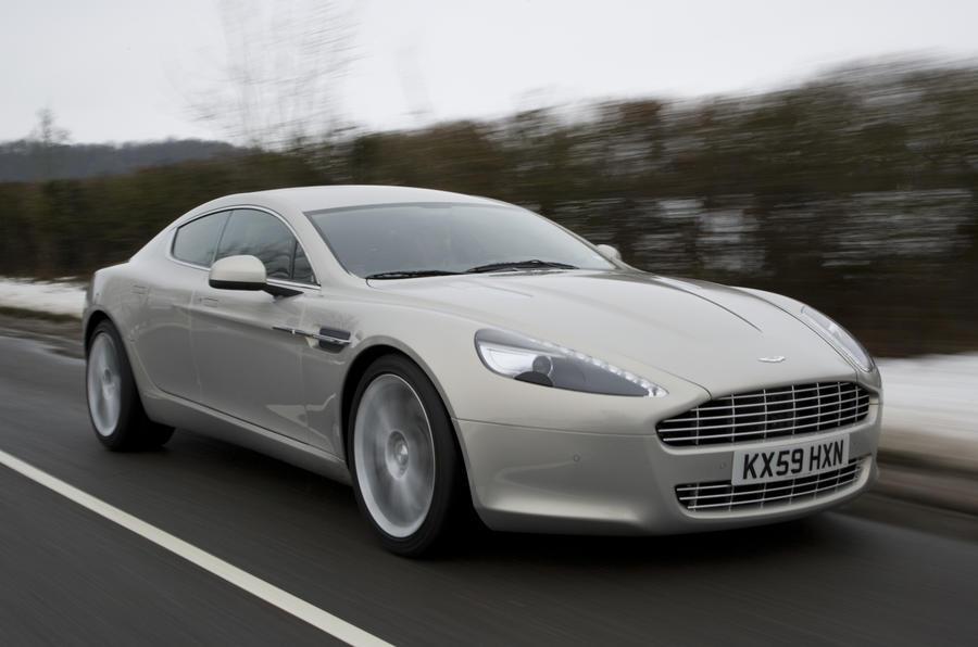 Aston Martin Rapide front quarter