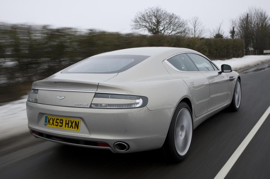 Aston Martin Rapide rear quarter