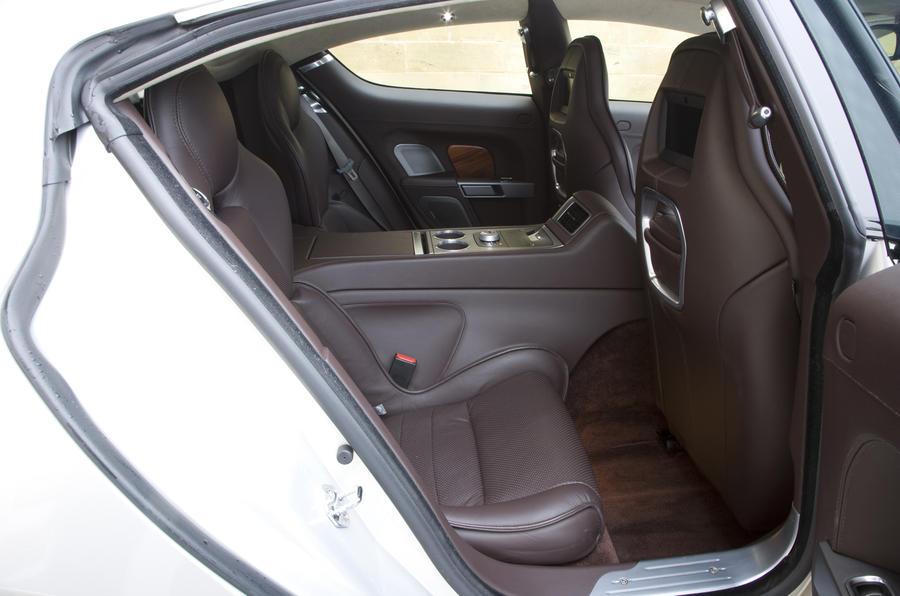 Aston Martin Rapide rear seats