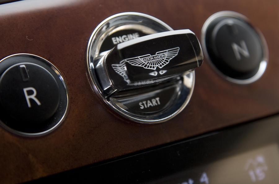 Aston Martin Rapide ignition
