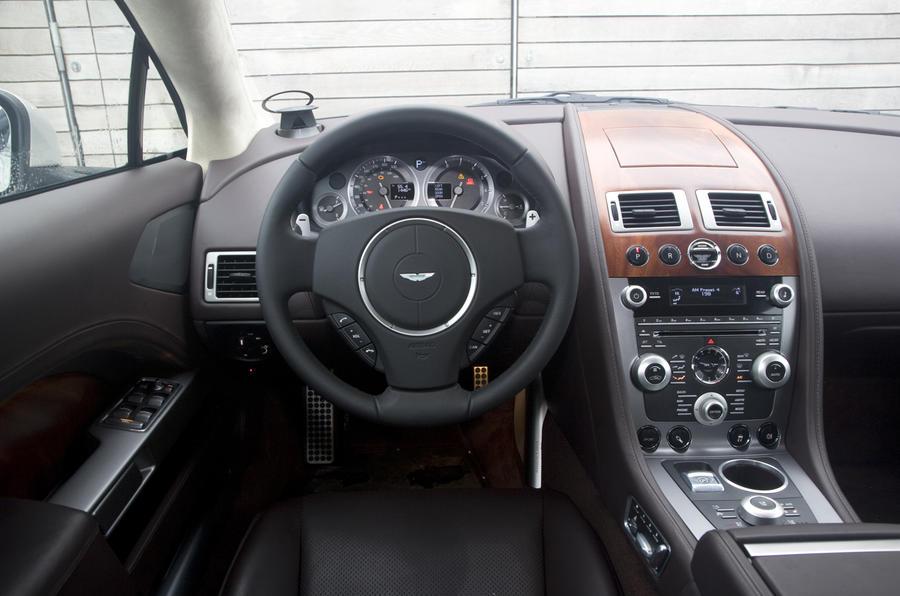 Aston Martin Rapide dashboard