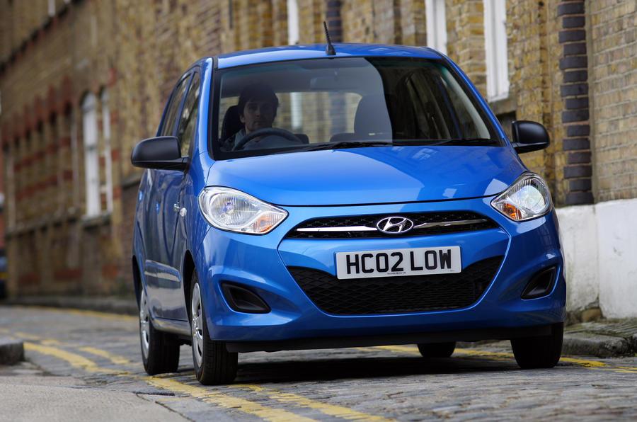 Hyundai i10 front end