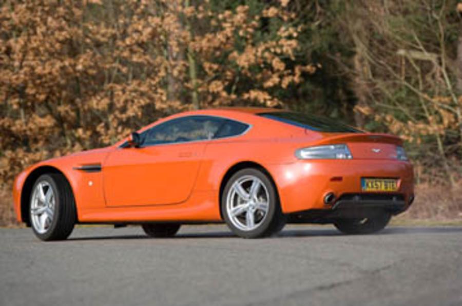 Aston Martin V8 Vantage N400 review | Autocar