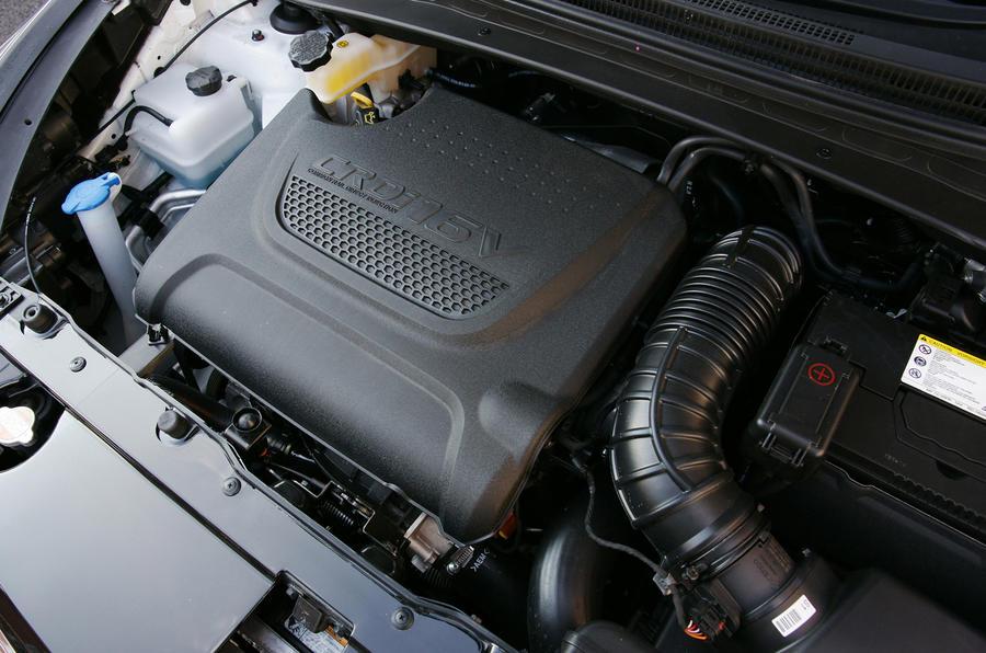 2.0-litre Hyundai ix35 diesel engine