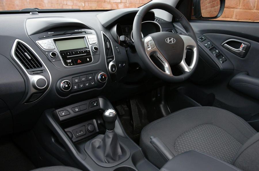 Hyundai ix35 dashboard