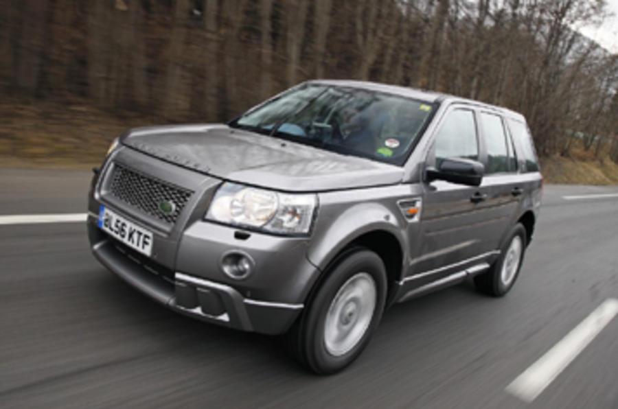 Land Rover Freelander Stop-Start