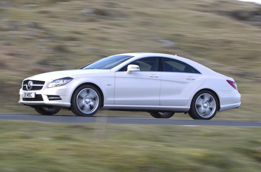 Mercedes-Benz CLS 350 side profile