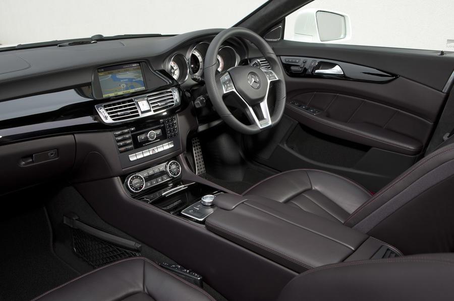 Mercedes-Benz CLS 350 interior