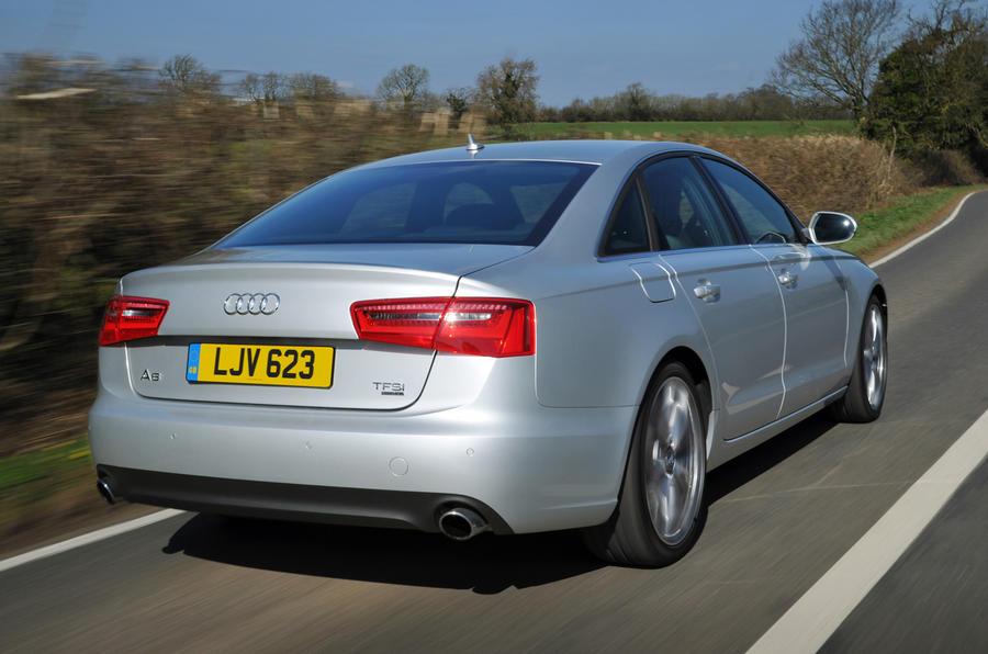 Audi A6 rear