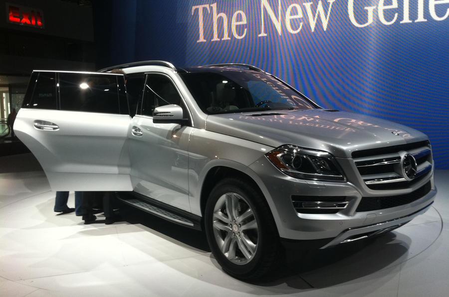 New York show: Mercedes GL