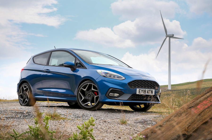 Ford Fiesta ST 2018 road test review hero static