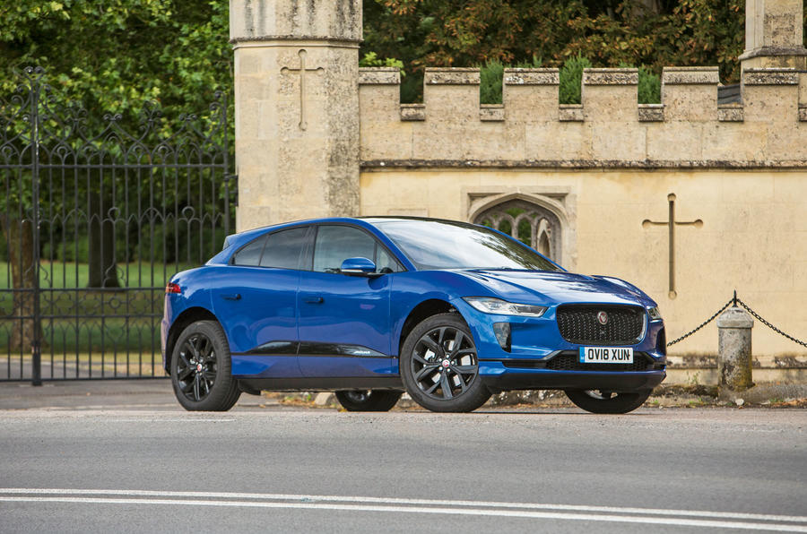 Jaguar I-Pace 2018 road test review hero static
