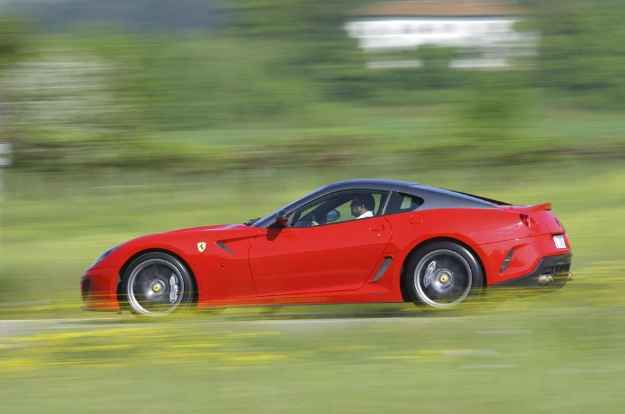 Ferrari 599 GTO side profile
