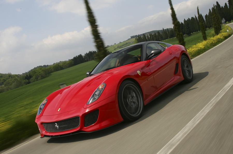 Ferrari 599 GTO front quarter