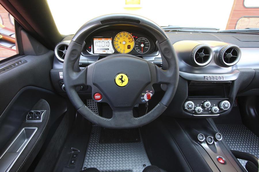 Ferrari 599 GTO dashboard