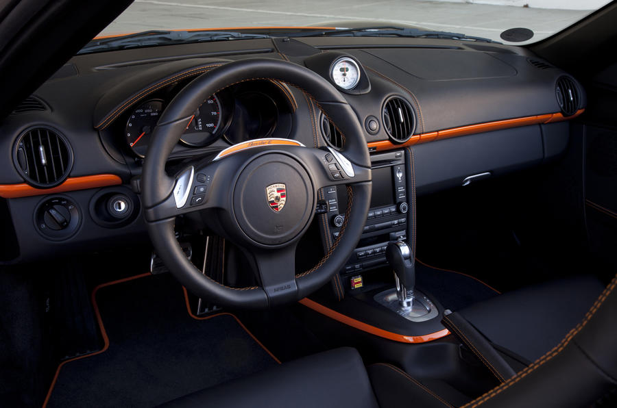 Porsche Boxster E interior