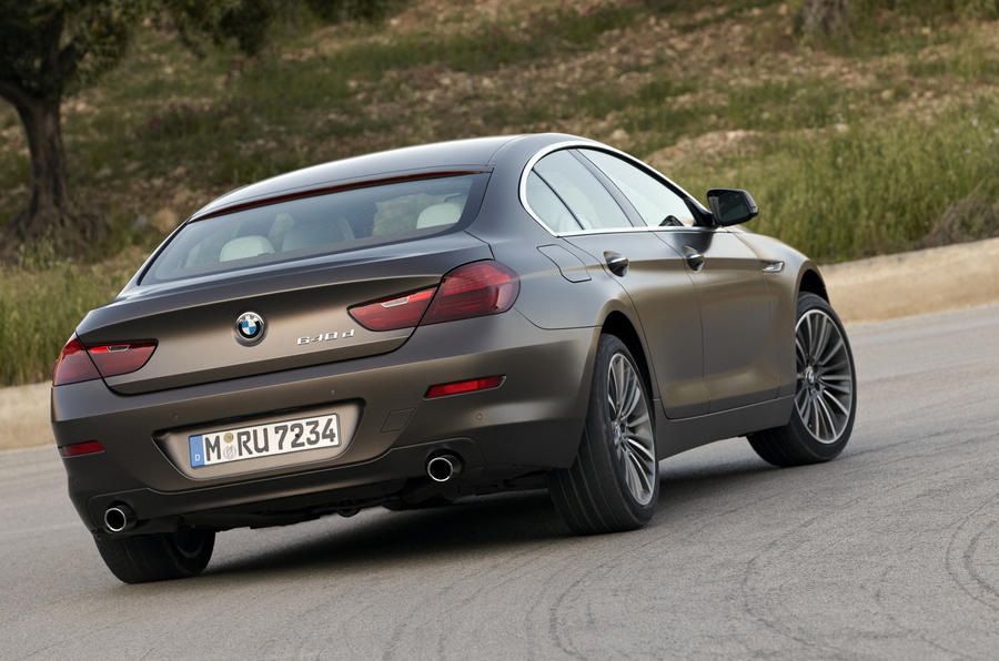 BMW 640d Gran Coupe Rear