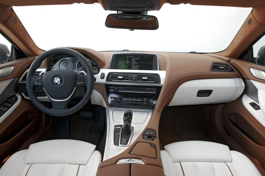 Bmw 640d gran coupe review autocar for Bmw serie 6 interieur