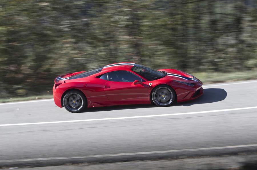 Ferrari 458 Speciale first drive