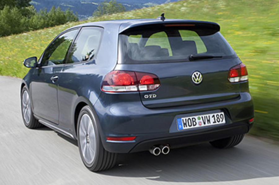 Volkswagen Golf GTD rear end