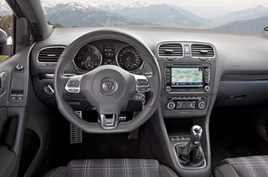 Volkswagen Golf GTD dashboard