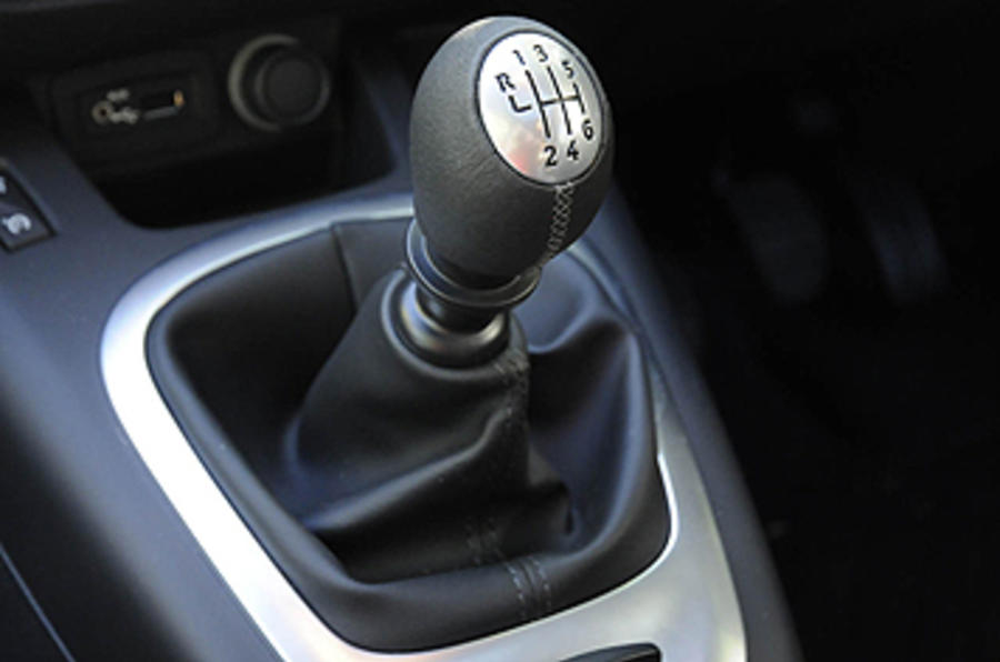 Renault Grand Scenic manual gearbox