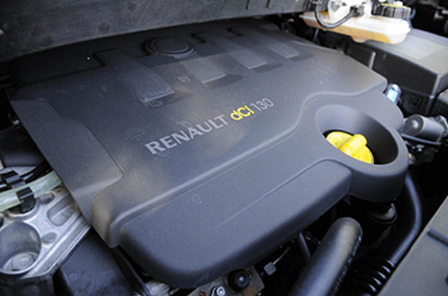 1.9-litre Renault Grand Scenic dCi engine