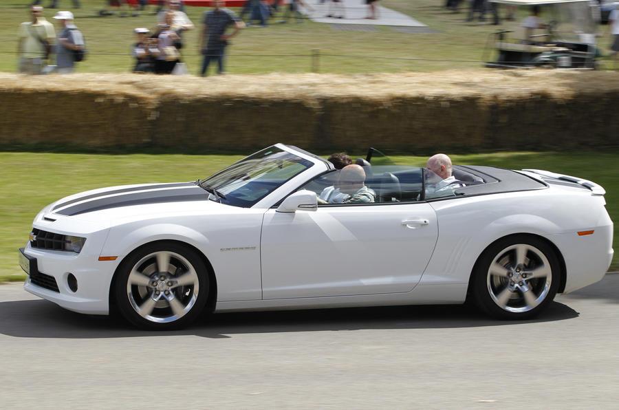 Chevrolet Camaro Convertible roof open