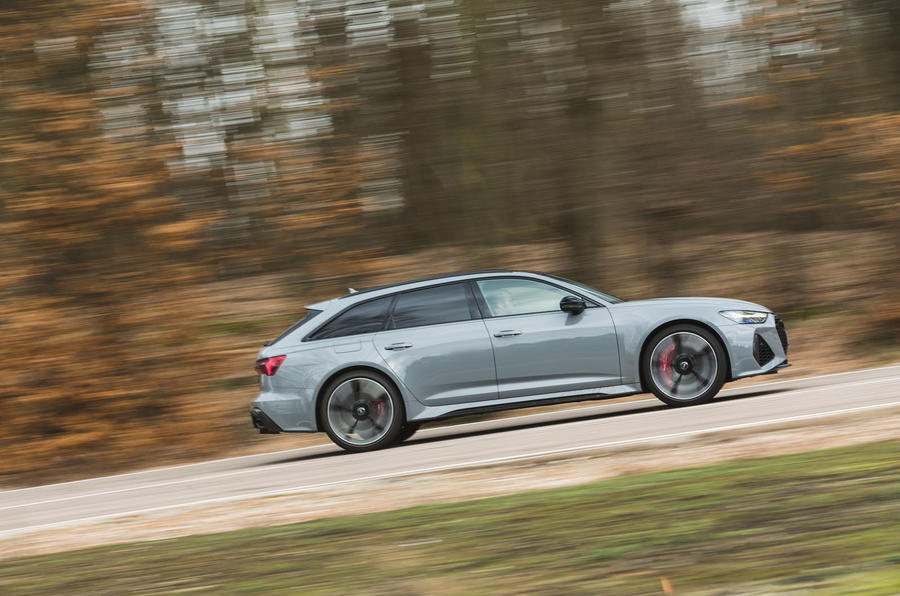 Audi RS6 Avant 2020 road test review - on the road side