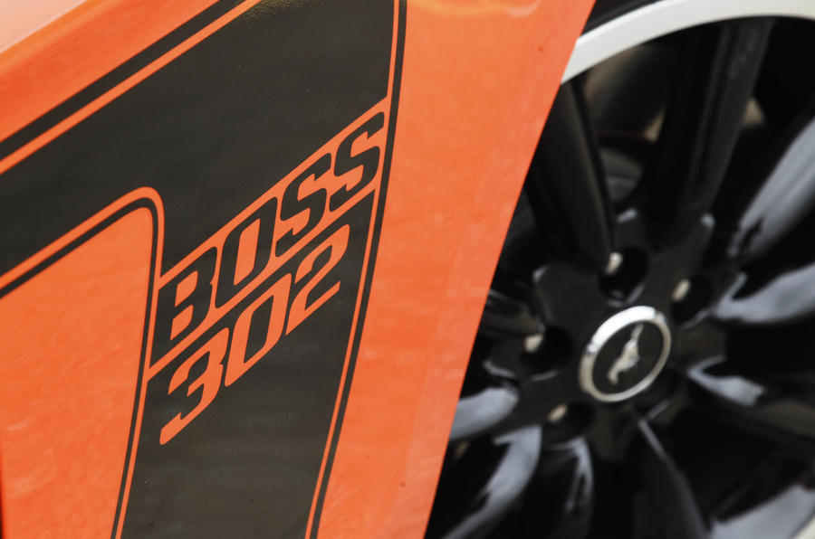 Ford Mustang Boss 302 decals
