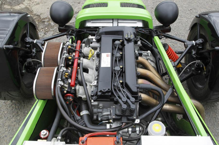 185bhp 2.0-litre Tiger Aviator engine