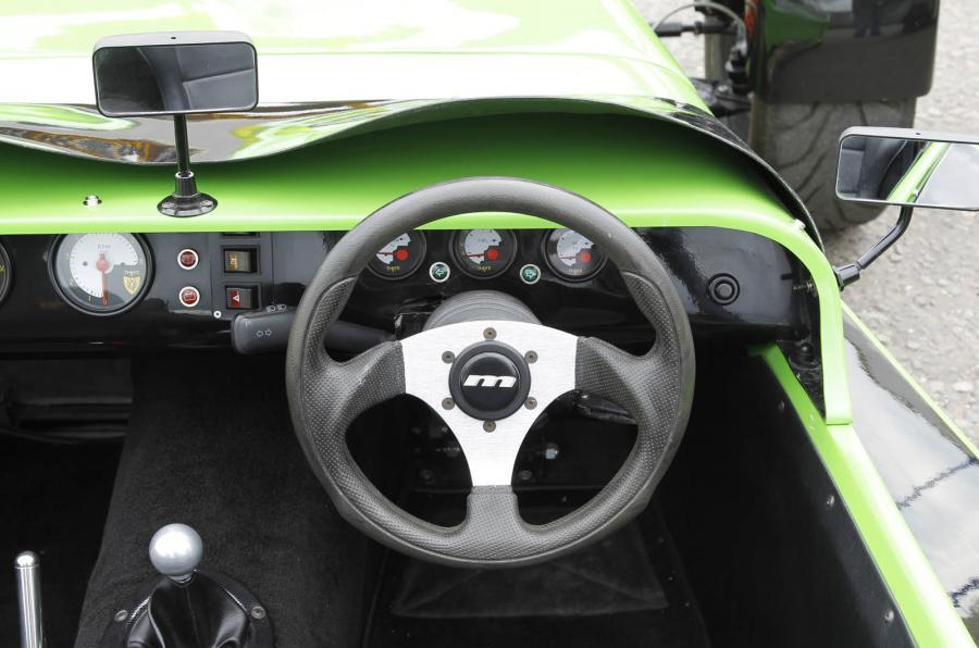 Tiger Aviator steering wheel