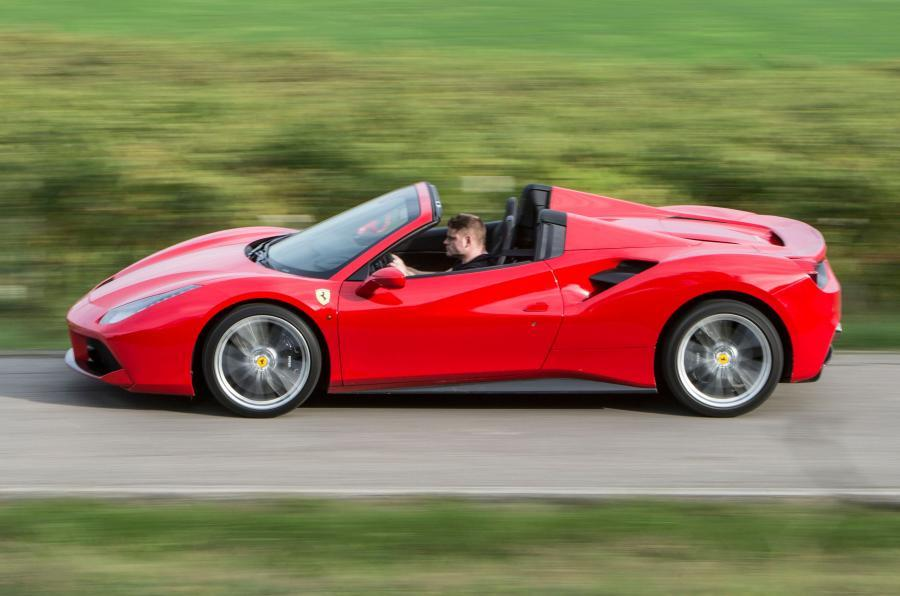The 660bhp Ferrari 488 Spider