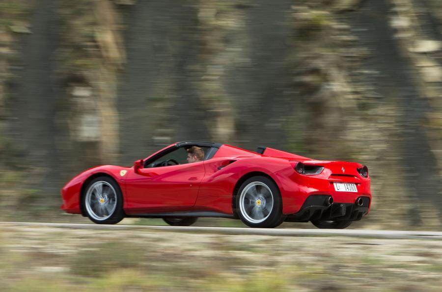 £204,400 Ferrari 488 Spider