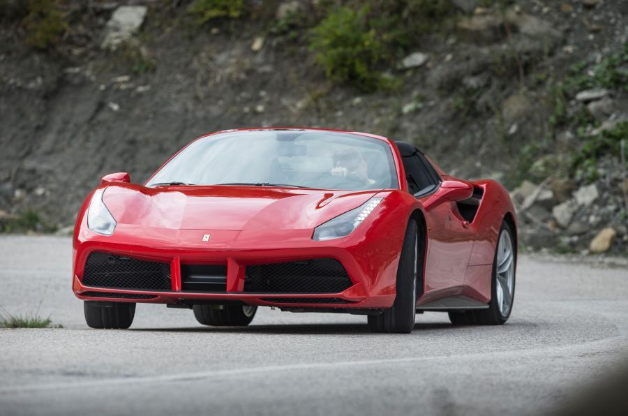 4.5 star Ferrari 488 Spider