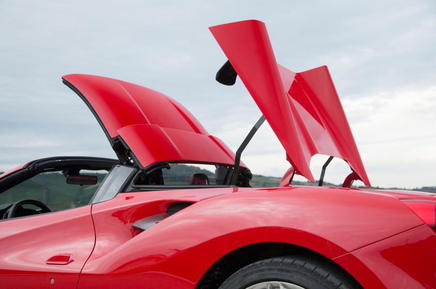 488 Spider folding metal roof