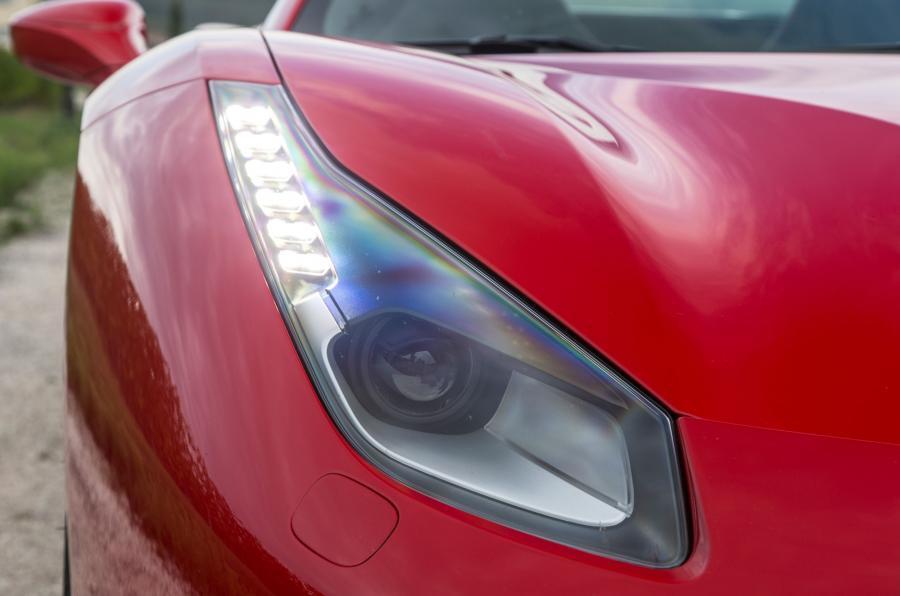 Ferrari 488 Spider xenon headlight