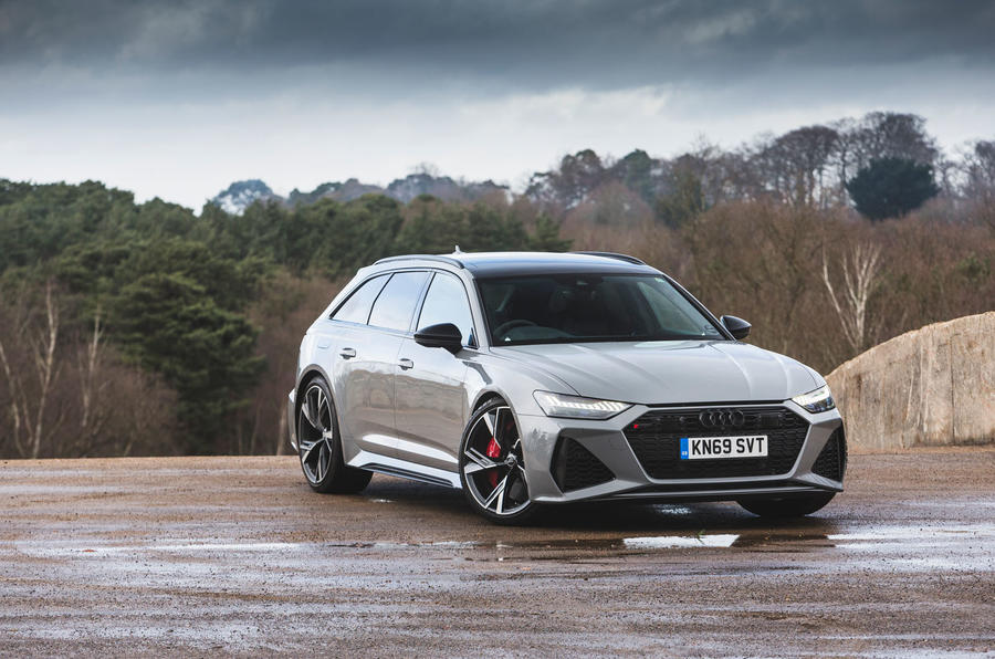 Audi RS6 Avant 2020 road test review - static