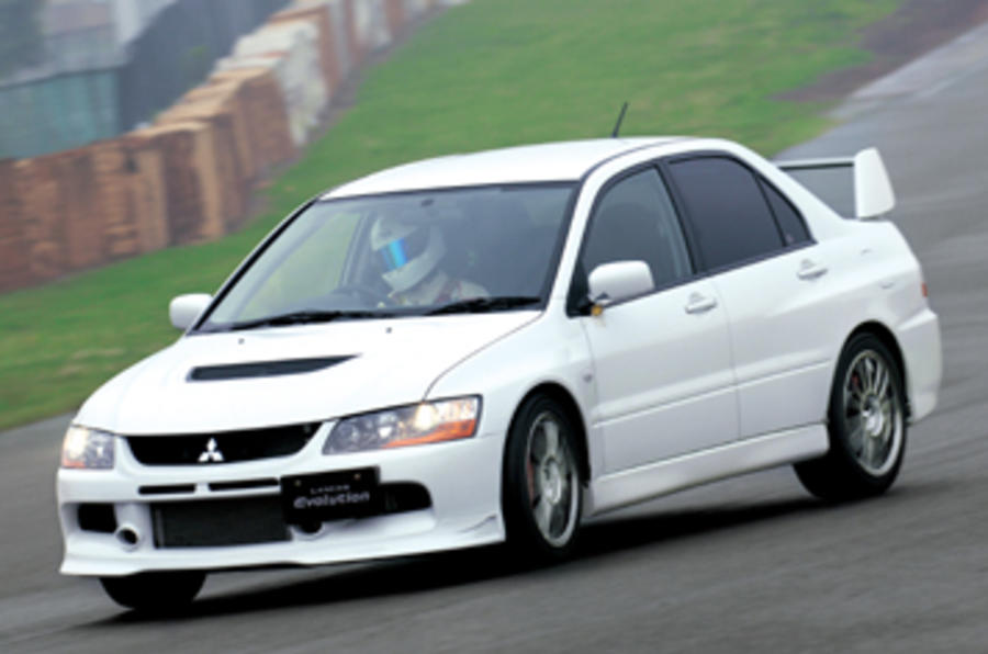 Mitsubishi Evo MR RS