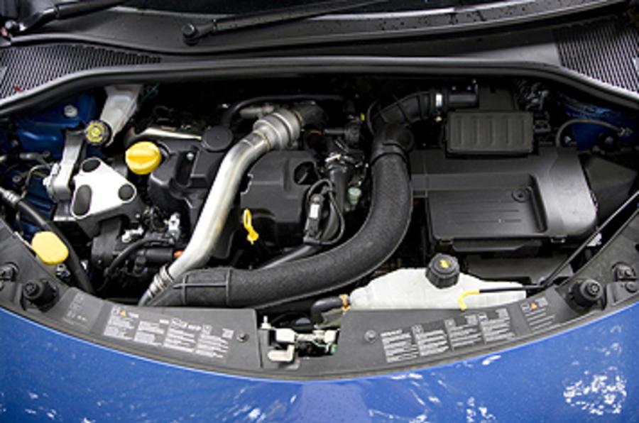 1.5-litre Renault Clio diesel engine