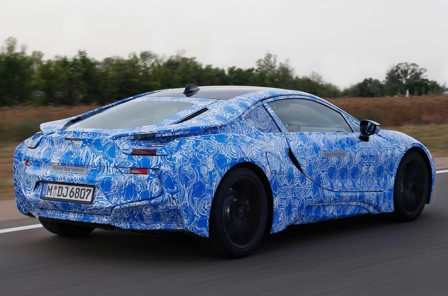 BMW i8 prototype rear