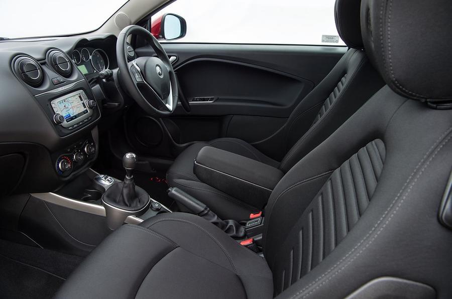 Alfa Romeo Mito review cabin