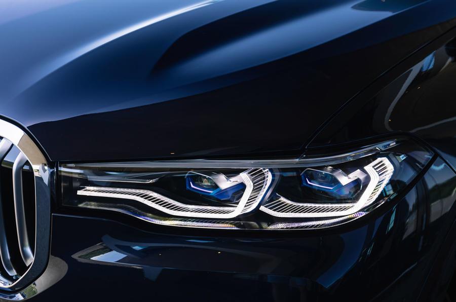 Alpina XB7 2020 road test review - headlights